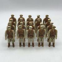 Vtg Star Wars Hoth Rebel Soldier Army Builder Lot of 20 Action Figures