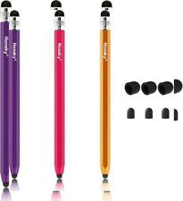 Honsky Cell Phone Stylus, Tablet Stylus for Touch Red,Champagne,Purple