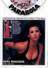 SOPHIE MARCEAU VANESSA PARADIS SIMENON TAHNEE WELCH - VERY rare magazine 1990