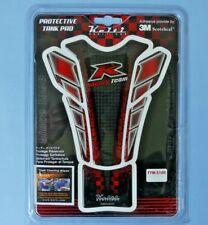 Keiti Motocicleta Protector Tanque Pad ~ R Racing Team Rojo/Negro Nuevo Paquete Sellado