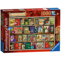 Ravensburger The Christmas Library Jigsaw Puzzle (1000 Piece)