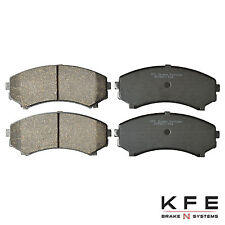 Premium Ceramic Disc Brake Pad FRONT New Set Shims Fits Mitsubishi Isuzu KFE867
