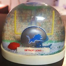 Nfl Detroit Lions Snow Globe Fan Dome Snow Dome Mint In Box