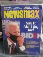 NEWSMAX MAGAZINE AUGUST 2020- SAY IT AIN'T SO, JOE! JOE BIDEN