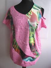 Stretchshirt Jerseyshirt Gr. XXXL (50-52-54) *pink* neu