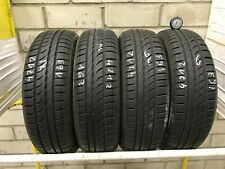 4x Sommerreifen Pirelli Cinturato P1 155/65 R14 75T 163 6,0-7,0mm TOP Zustand