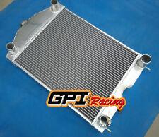 56mm 2 Rows aluminum radiator for Ford 2N/8N/9N tractor w/flathead V8 engine