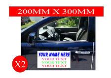 Magnetic Vehicle signs car van taxi vinyl decals stickers