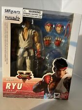 Bandai S.H. Figuarts Street Fighter V Ryu Figure USED & COMPLETE