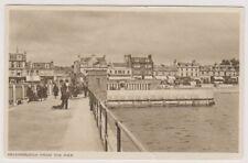 Argyllshire postcard - Helensburgh from the Pier