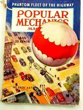 Popular Mechanics May 1938 Phantom Fleet of the Highway