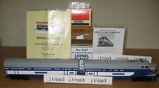 LIONEL 6-38386 WABASH CONVENTIONAL CLASSIC POSTWAR F-3 AB DIESELS O GAUGE TRAIN