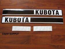 Kubota decal set 2250  KL2250