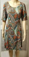 Karen Kane Women's Dress, size XL,  multicolor polyester, spandex