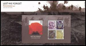 2007 GB Lest We Forget Passchendaele 1917 Royal Mail Presentation Pack No.405