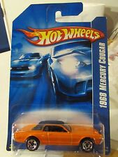 Hot Wheels 1968 Mercury Cougar Orange