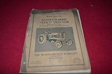 Massey Harris Colt Tractor Dealer's Parts Book Manual Rwpa