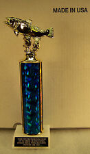 """TROUT FISHING 12"""" TROPHY AWARD FREE ENGRAVING SHIPS 2 DAY MAIL"""