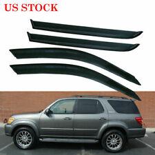 Window Visors Rain Guard For 2001 2002 2003 2004 2005 2006 2007 Toyota Sequoia