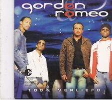 Gordon&Romeo-!00% Verliefd cd single