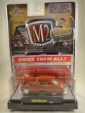 M2 Machines Auto-Thentics 1949 Mercury Dark Red NEW 1:64 scale 2013 Release 20