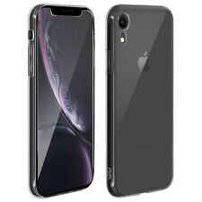 Carcasa trasera + cristal templado transparente Apple iPhone XR