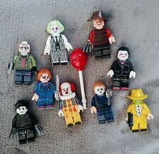 Horror Movie Lego Brick mini figures