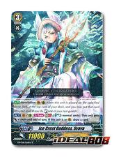 Cardfight Vanguard  x 4 Ice Crest Goddess, Svava - G-BT08/028EN - R Mint