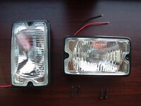 Peugeot 205 GTI driving lights lamps NEW CLEAR - DENJI