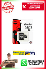 MICRO SD KINGSTON CLASSE 10 DA 16 GB GIGA BITE