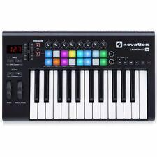 Novation Launchkey 25 Keyboard Midi Controller Usb (works Ableton & other Daw's)