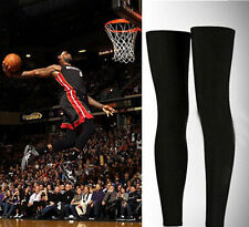 2PC NBA Sport Sleeve Compression Basketball Protect Leg Calf Stretch Brace Thigh
