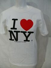 1996 I LOVE NY ...... T - Shirt in White Never worn womans S, mans XS