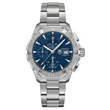 Tag Heuer Aquaracer 43mm Chrono Date Automatic Mens Watch CAY2112.BA0927