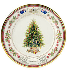 Lenox Australia Annual Collector Plate 2017 Christmas Trees Around World New