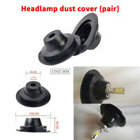 Universal headlight seal dust cap cover PVC rubber for Car LED HID Xenon  Bulb