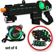 Ranger 1 Laser Tag Gaming Kit with 4 Guns + 4 Vests by Strike Pros -(D12)