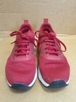 E221 MENS NIKE AIR MAX TAVAS RED TEXTILE LACE UP RUNNING TRAINERS UK 8 EU 42.5