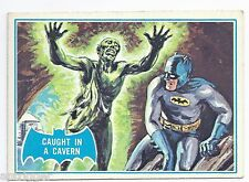 1966 Topps Batman Blue Bat with Bat Cowl Back (39B) Caught In A Cavern