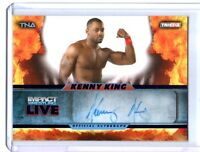 TNA Kenny King 2013 Impact Wrestling LIVE BLUE Autograph Card SN 10 of 25