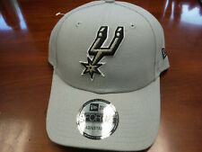 New San Antonio Spurs New Era 9FORTY ADJUSTABLE Hat *** GRAY ***