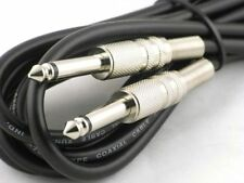 10ft FOOT/3M GUITAR/BASS CABLE jack to jack patch lead