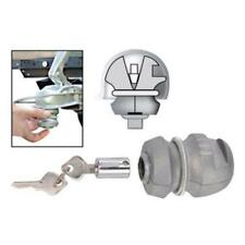 Anhängerdiebstahlsicherung  Schloss inkl 2 Schlüsseln für Pkw Anhänger Wohnwagen