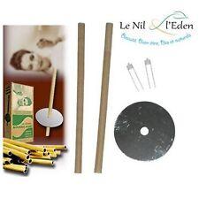 2 Véritables Bougies d'oreille Hopi (ear candle) - Hygiène, Détente, Bien-être
