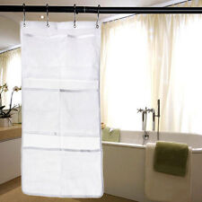 Mesh Organizer Hanging Shower Bathroom 6 Pocket Tub Caddy Storage Bag