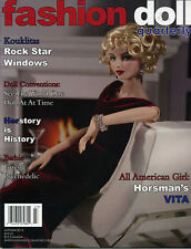 Fashion Doll Quarterly FDQ Autumn 2012 Horsman Vita, Barbie, Wonder Woman