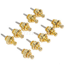 10pcs Golden Strap Lock For Electric Acoustic Guitar Bass With The Best Price
