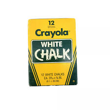"""Crayola Chalk, White, 12-Pack"""