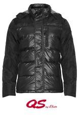 QS by s.Oliver Herren Winter Jacke | Reißverschluss Kapuze Jacket Seitentaschen
