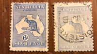 British Australia Stamp # 48 NG 2 Colors Used H Stamps